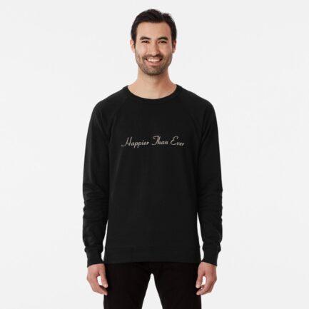 Billie Eilish Happier Than Ever sweatshirt